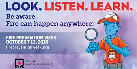 2018 Fire Prevention Week
