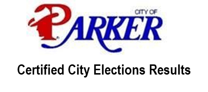 Parker Certified City Elections Results